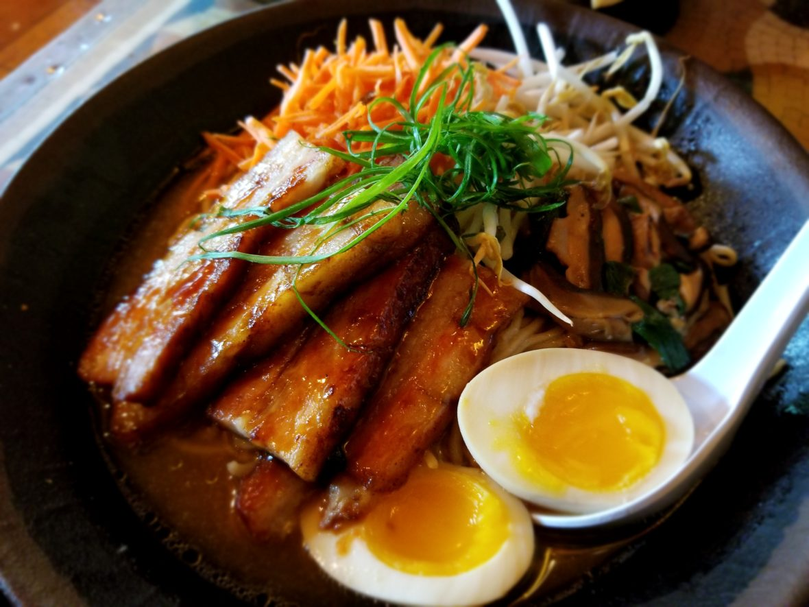 Pork Belly Ramen from Yak and Yeti Restaurant in Animal Kingdom at Walt Disney World