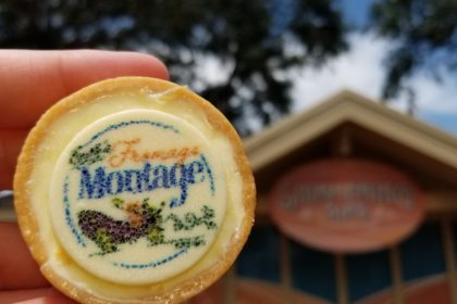 Emile's Fromage Montage Review Featuring the Complimentary Cheesecake at Epcot Food and Wine Festival